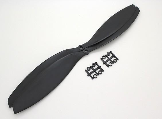 Turnigy Slowfly螺旋桨14x4.7黑色(CW)(2个)