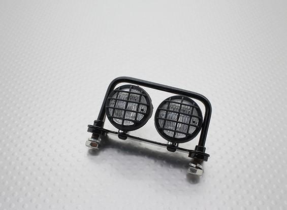 履带式车辆/汽车灯套装带LED的(黑)