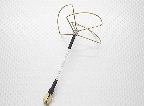 2.4 GHz的圆极化天线RP-SMA(仅发送)