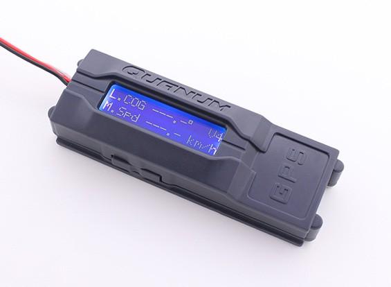 Quanum GPS记录器与V2背光液晶显示屏NEO-6了u-blox