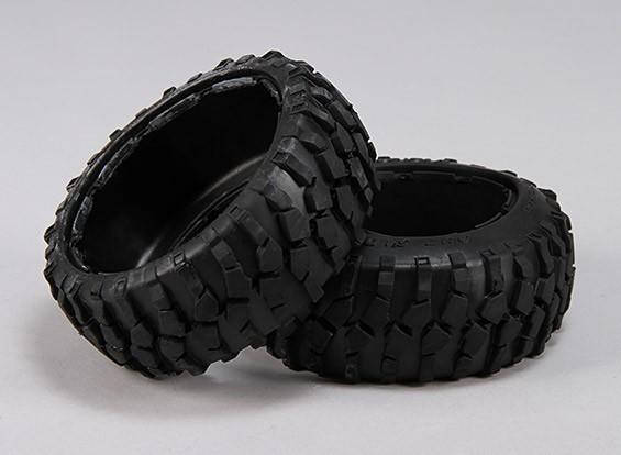 接待碎石轮胎 -  1/5巴哈260和260S