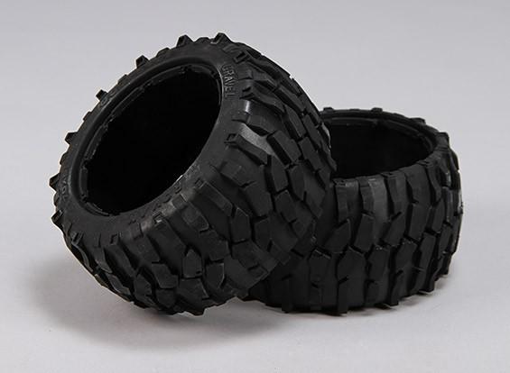 碎石后轮胎 -  1/5巴哈260和260S