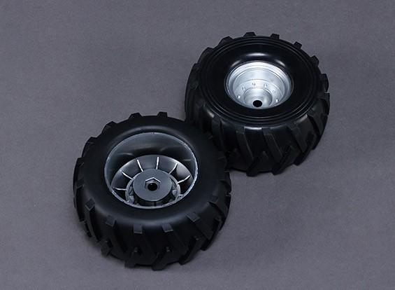 轮子 - 硝基马戏团锤1/8比例怪物卡车(2个)