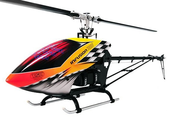 TSA输液700E PRO无副翼电动直升机套件