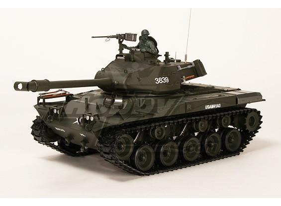 美国M41A3斗牛沃克轻型遥控坦克RTR瓦特/气枪和Tx