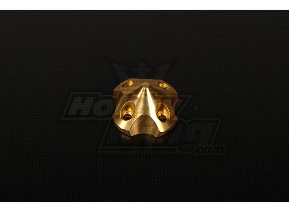 3DSpinner为HP-50 / DLE55 / DA50 / JC51(41x41x26mm)黄金