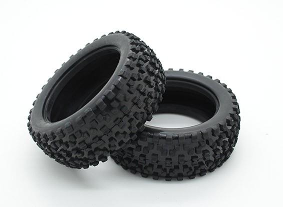 有毒硝基 - 前轮胎
