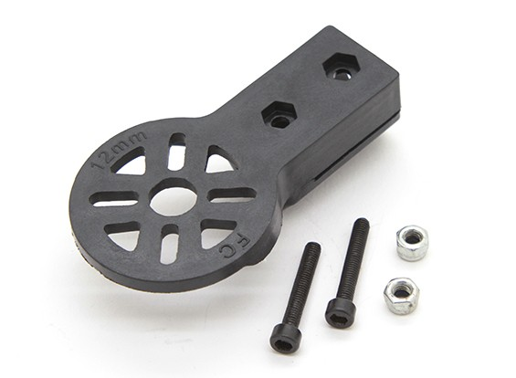 DIY方管电机安装90度(12毫米管)