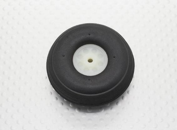 """1.75""""/44.5mm超轻PU橡胶滚轮刻度"""