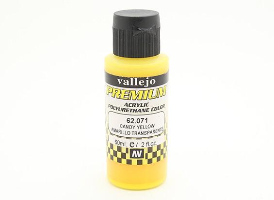 瓦列霍高级彩色亚克力漆 - 糖果黄色(60ml)中