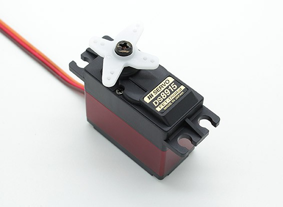 JR DS8915高扭矩数字伺服与金属齿轮和散热器