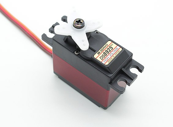JR DS8925HV高速数字伺服与金属齿轮和散热器