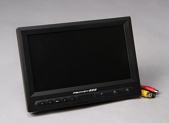 8英寸800×480的TFT LCD高清显示器FPV与背光888的FieldView