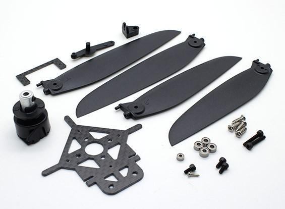 8-9英寸可变螺距螺旋桨安装瓦特/连接组件和山
