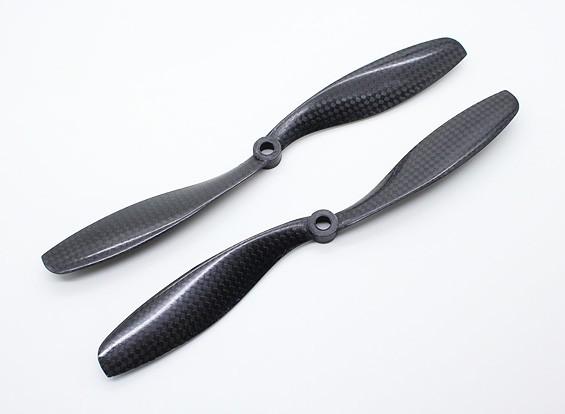 碳纤维与DJI配件螺旋桨8x4.5黑色(CW / CCW)(2个)