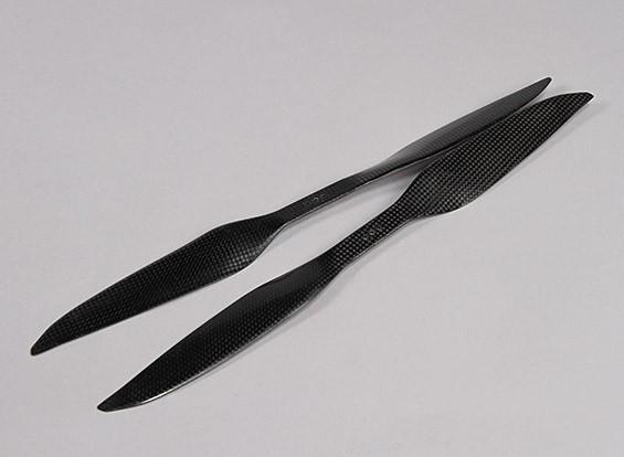 多转子碳纤维DJI S800螺旋桨16×黑色(CW / CCW)(2个)