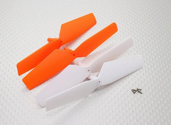 螺旋桨(2顺时针方向,2逆时针) - 科尔QR W100S的Wi-Fi微FPV四轴飞行器