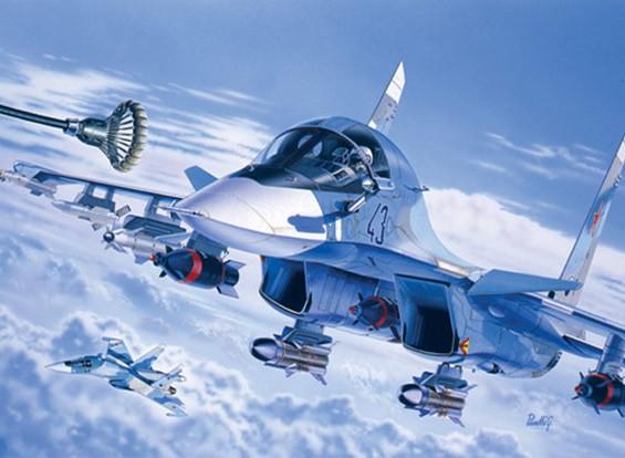 Italeri 1/72比例苏-34战斗轰炸机塑料模型套件