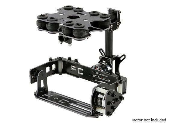 休克卡类型相机吸收2轴万向无刷套件 - 玻璃纤维版本