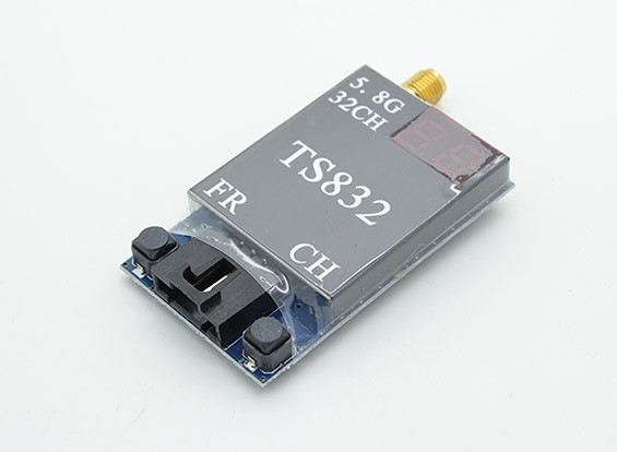 SkyZone FPV 5.8GHz的600mW的32CH A / V传输(TX)模块TS832 RP-SMA