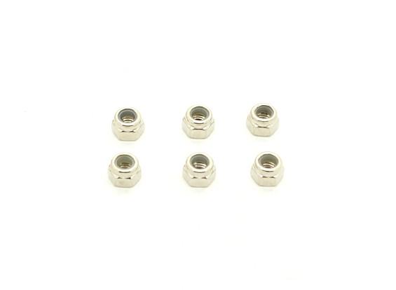 3.5毫米NYLOCK坚果(6件) -  BSR 1/8拉力赛