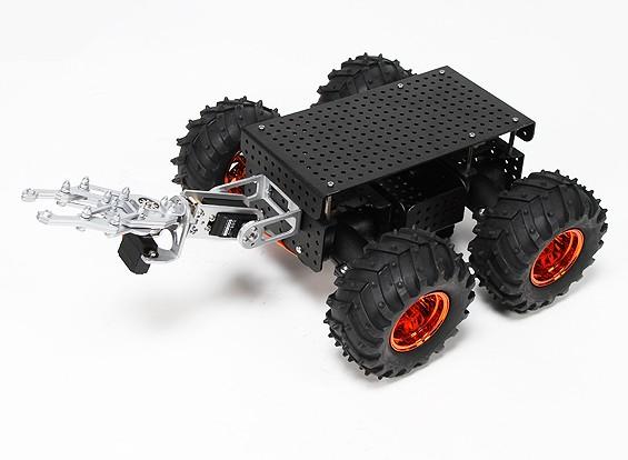 野生桑普多4WD底盘与抓取和怪物卡车类型车轮/轮胎