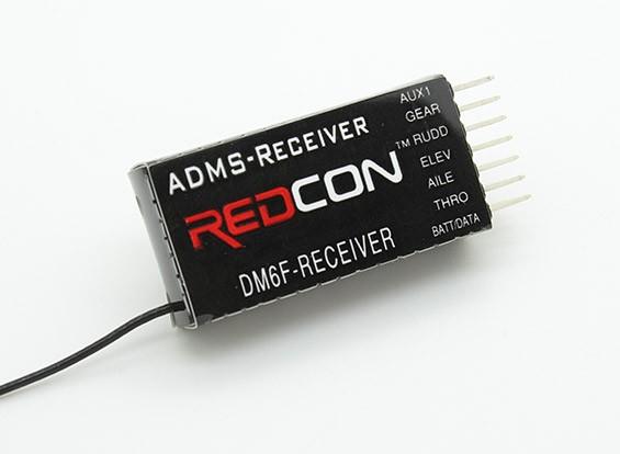 DM6F 2.4GHz的DMSS 6CH Parkfly接收器