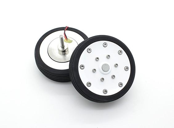 """博士MadThrust 2.75""""/69.5毫米主轮与电磁制动系统(2PC)"""