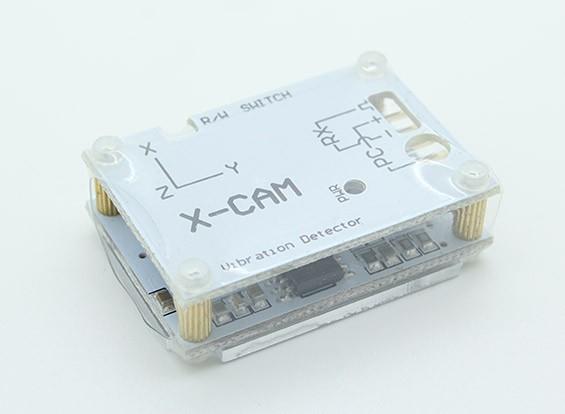 的X CAM振动测量仪与USB适配器