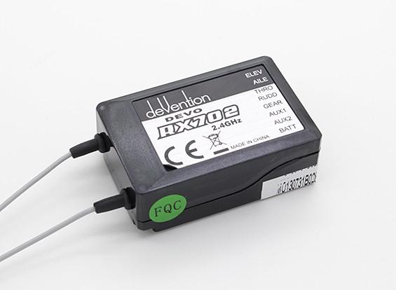 华科尔QR X350 GPS四轴飞行器 - 接收器(DEVO-RX702)