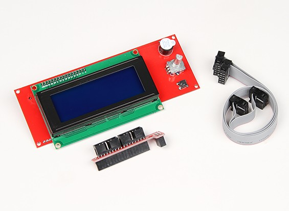 3D打印机的RepRap智能控制器(坡道LCD控制)