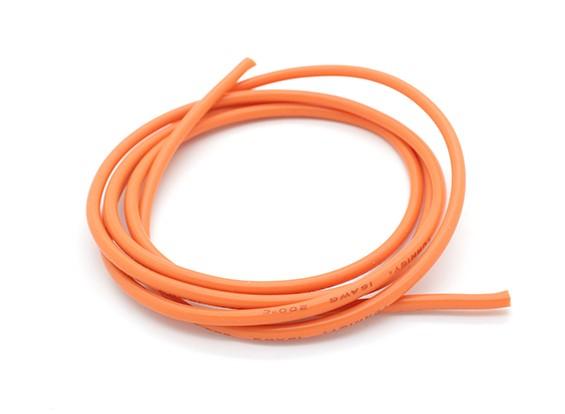 Turnigy纯硅胶线16AWG 1M线(由橙色)
