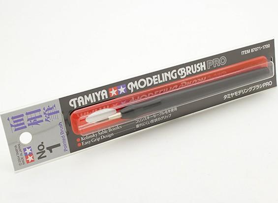 田宫模型刷子临(尖头第1号)