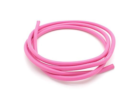 Turnigy纯硅胶线12AWG 1M线(由粉色)