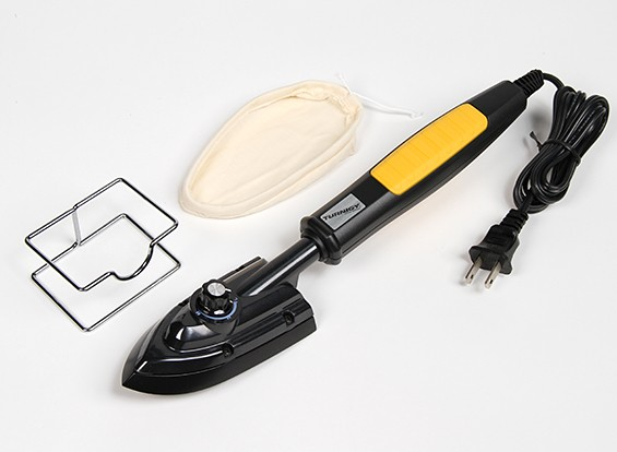 Turnigy110瓦特热封铁与袜子和备用110V(美国标准2脚插头)