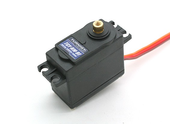 Turnigy™TGY-RM-91机器人DS / MG伺服11.8公斤/ 0.21sec /55克