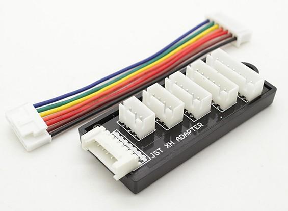 JST-XH平衡板为2S至6S电池组