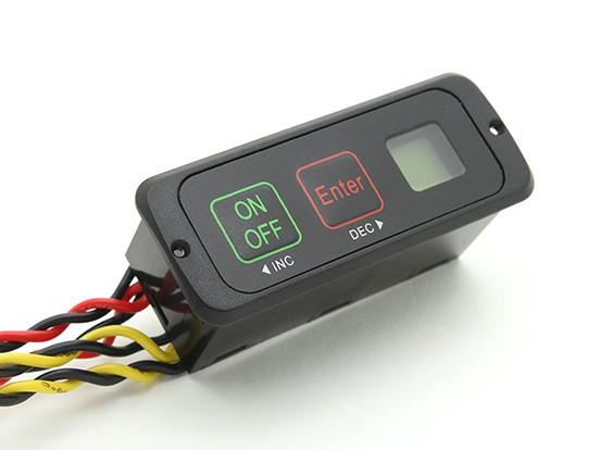 重型双电池Intelliswitch有液晶电池监视器
