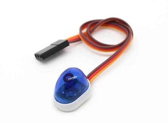 警车样式单个LED灯(蓝色)