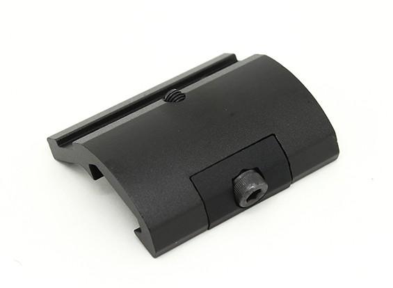 元素EX289扇形齿轮式的手电筒挂载M951 M961(黑色)