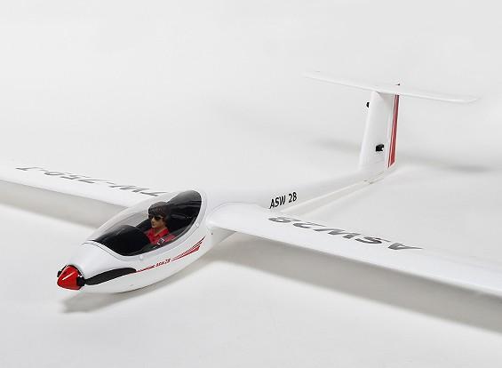 ASW28电动滑翔机EPO /塑料2540毫米(PNF)