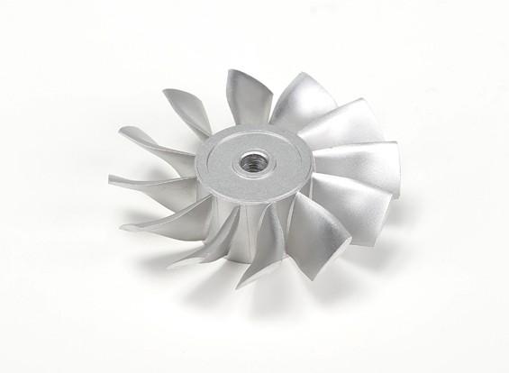 疯狂博士推力90毫米铸造铝合金转子