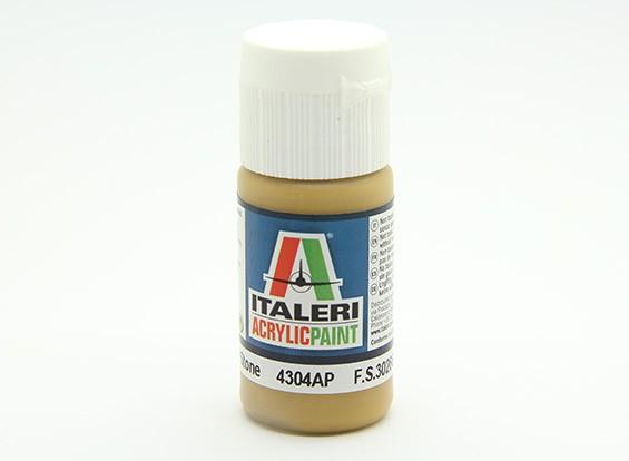 Italeri丙烯酸涂料 - 平石中