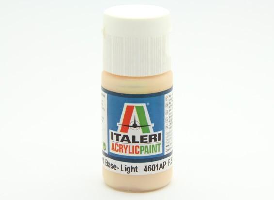 Italeri丙烯酸涂料 - 平肤色色调基地灯