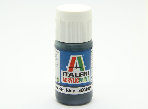 Italeri丙烯酸涂料 - 平非镜面海之蓝