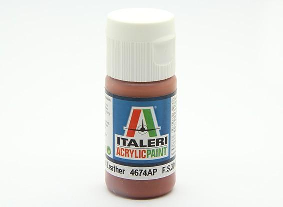 Italeri丙烯酸涂料 - 扁平皮革