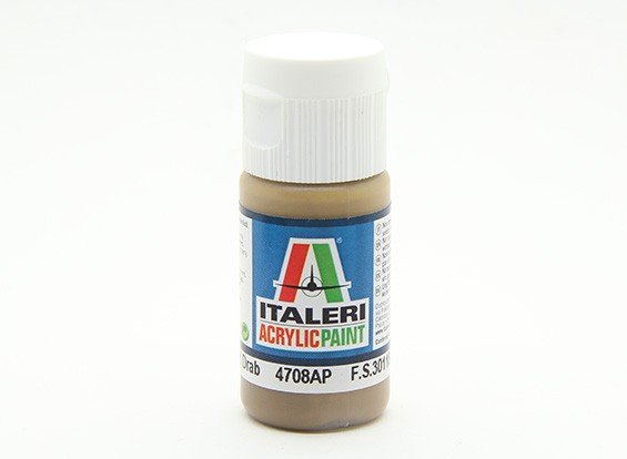 Italeri丙烯酸涂料 - 平场褐