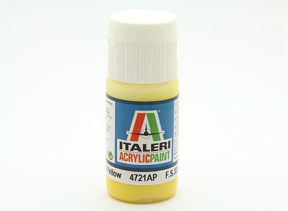 Italeri丙烯酸涂料 - 扁平黄色徽章