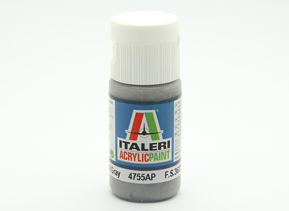 Italeri丙烯酸涂料 - 平的暗灰鸥
