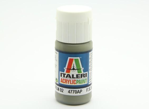 Italeri丙烯酸涂料 -  FGrau RLM 02